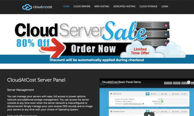 海外の格安VPS「CloudAtCost」を契約してみた