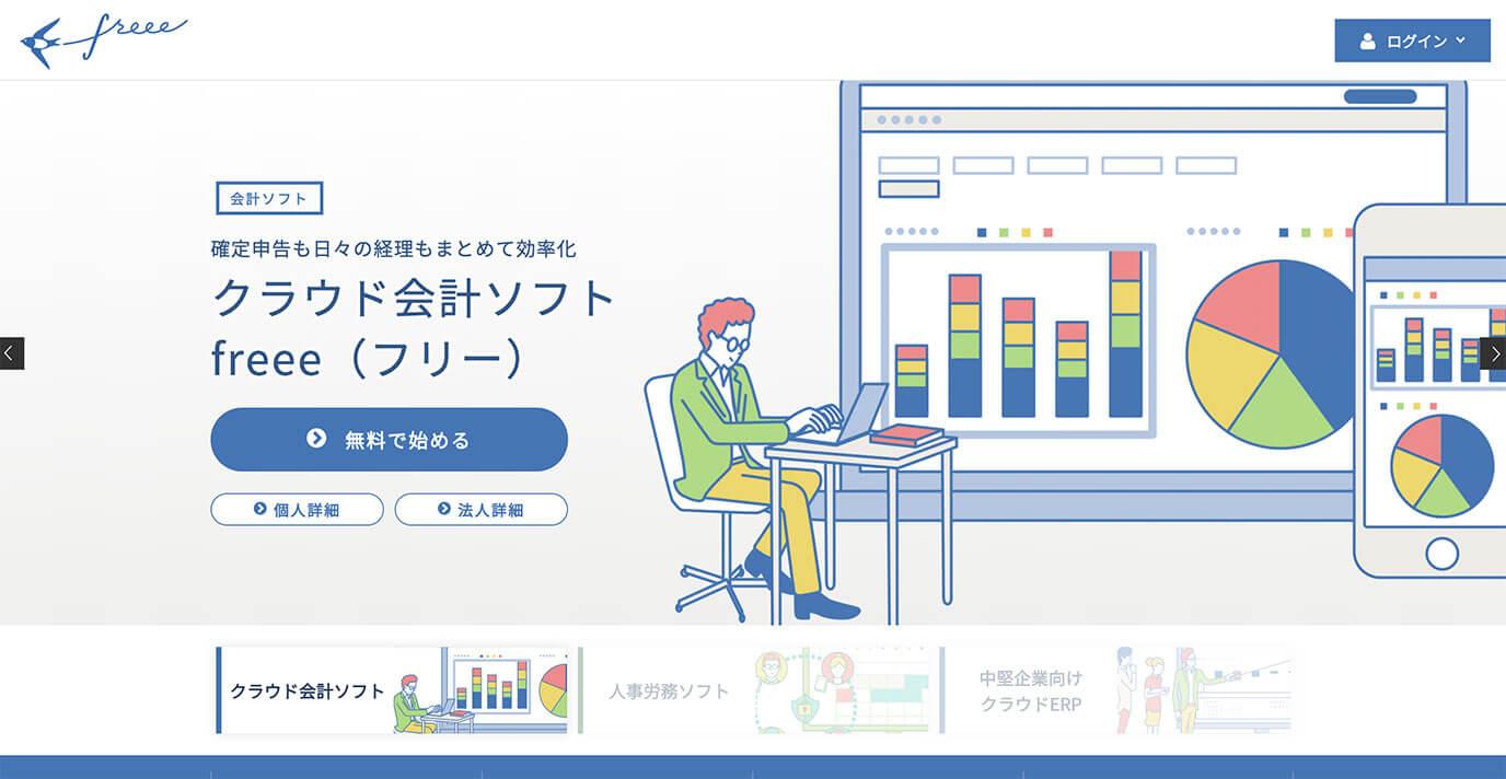 freee(30日間無料お試し)